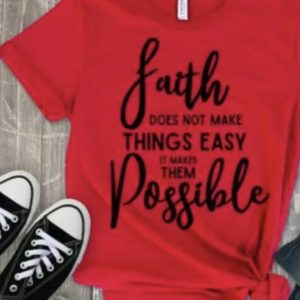 FAITH DOES NOT MAKE THINGS EASY……