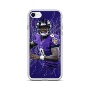 Lamar Jackson iPhone Case